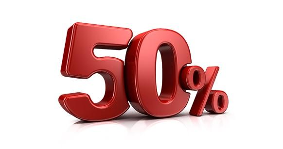 Baterías Lumsing 12000 mAh al 50%