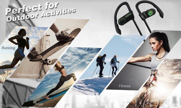 Auriculares Bluetooth deportivos 80% de descuento
