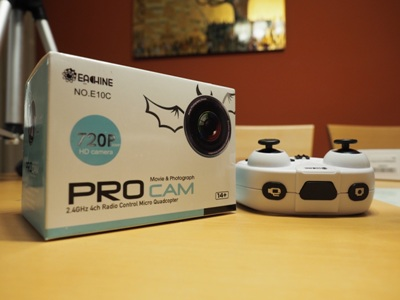 Unboxing & Review Mini-Drone Eachine E10C