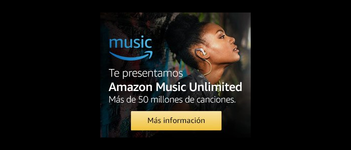 PRUEBA 30 DÍAS GRATIS – AMAZON MUSIC UNLIMITED