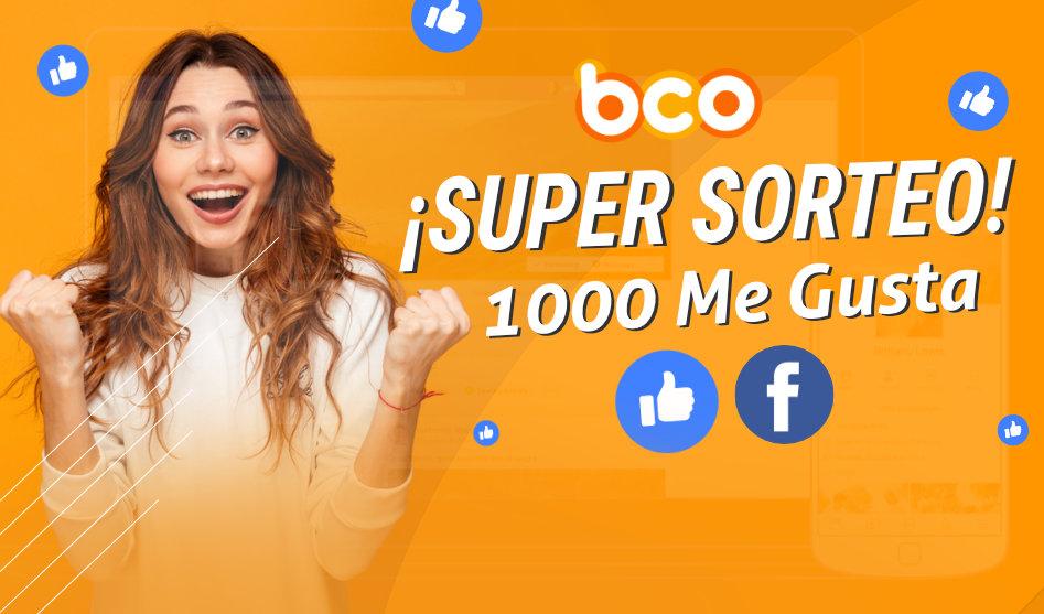"""SUPERSORTEO 1.000 """"ME GUSTAS"""" EN FACEBOOK"""